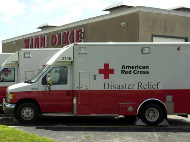 Fire Exhausts Red Cross Relief Fund
