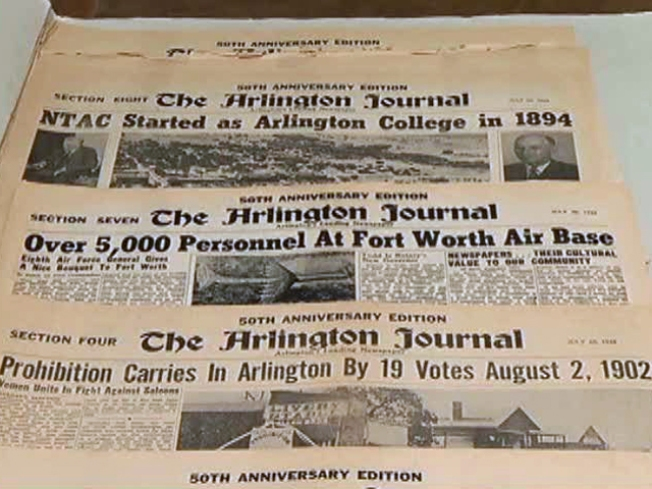 Old Arlington Newspaper Gets New Life