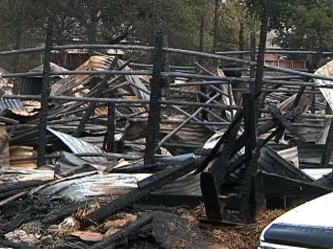 Grief, But Few Answers in Barn Fire