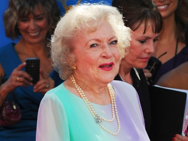 Betty White is a Calendar Girl