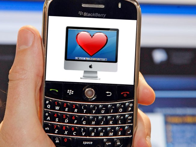 Some Blackberry Love Comes to Mac