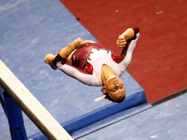 Bridget Sloan Wins U.S. Gymnastics Championship