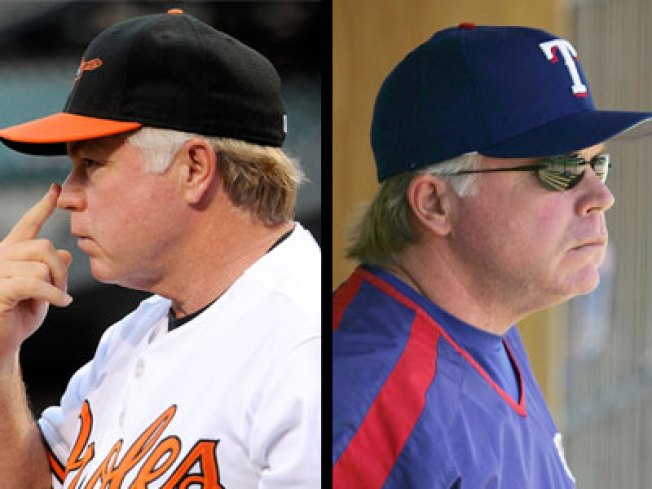 Showalter Still Pulls for Texas, Just Not This Week