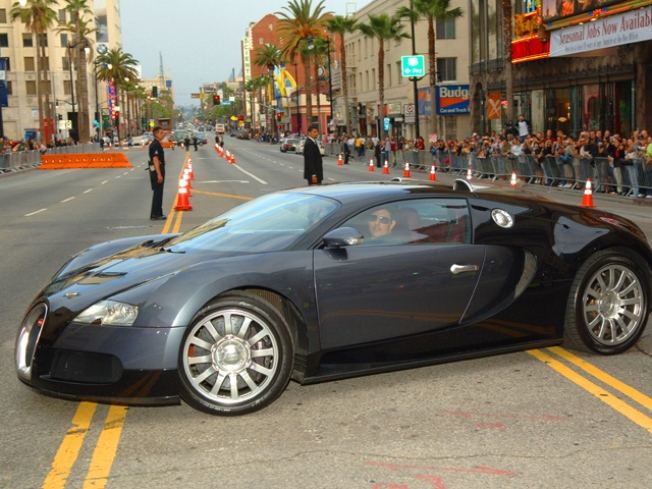 Driver Distracted by Pelican Sinks $1.25M Bugatti
