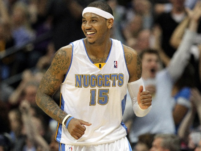 Carmelo Anthony Traded to N.Y. Knicks in Three-Team Deal