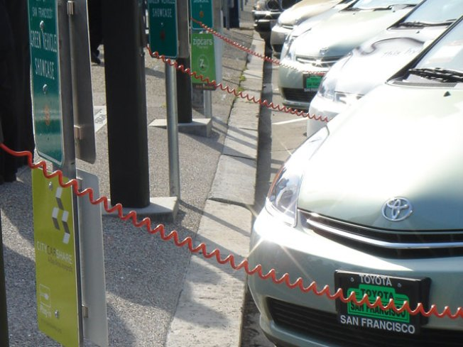 Bookstore Offers Free Charge for Electric Cars