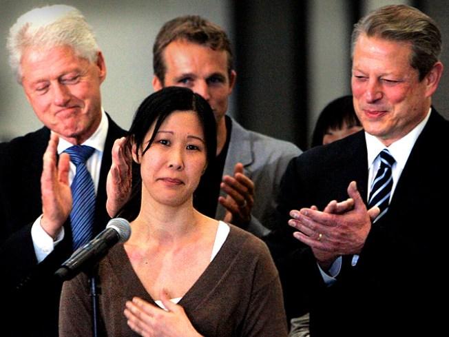 Kim Calls Tune as America Celebrates Freed Journos