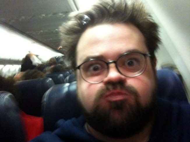 Frequent Flier Kevin Smith: Better Late Than Fat