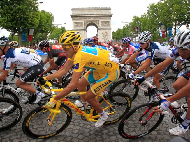 Contador Wins Tour de France, Armstrong Stalls Final Stage