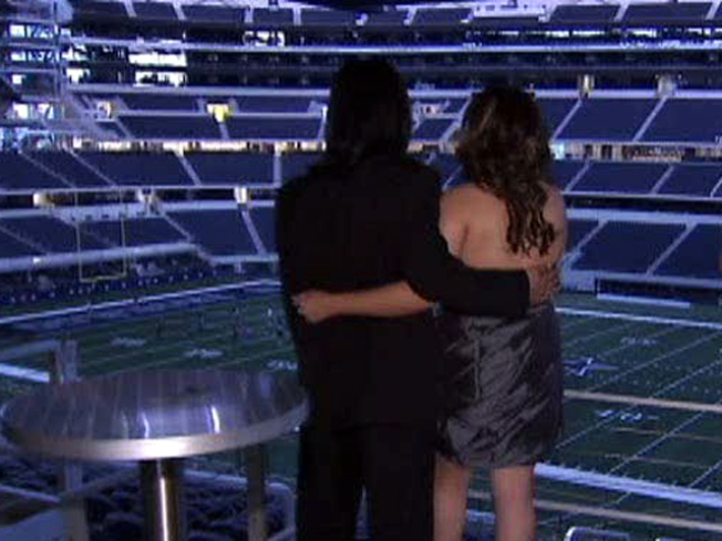 A Prom Lit By the Dallas Cowboys Star