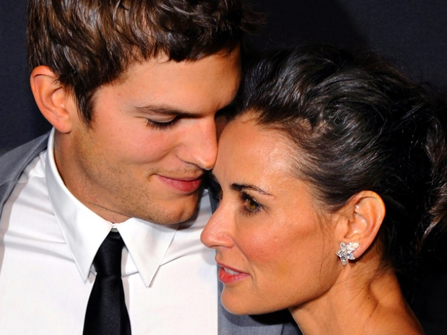 """Demi Moore Says Baby With Ashton Kutcher is """"Something That We Would Like"""""""