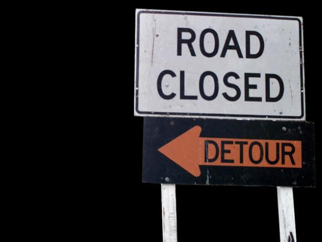 Drivers to Detour at Collins Street Construction
