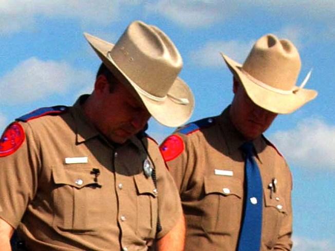 State Troopers Trooping