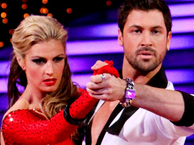 "Erin Andrews Shares Her ""Love"" For ""Dancings's"" Maksim Chmerkovskiy"
