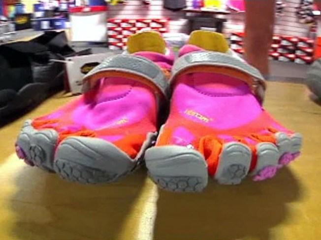 Odd-Looking Footwear Feels Like Running Barefoot