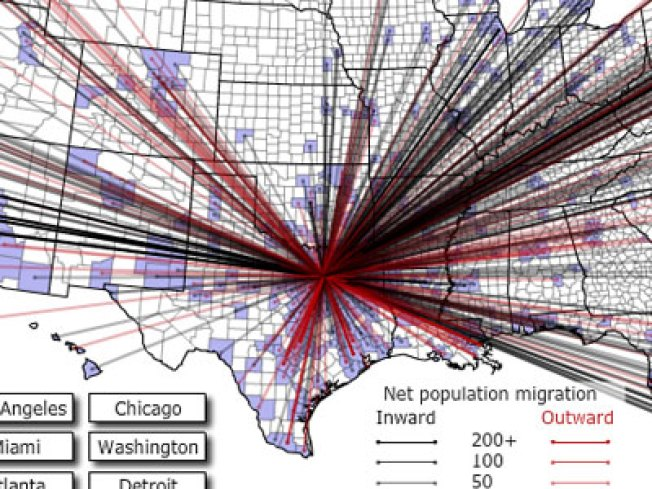 Forbes Maps DFW Migration Patterns