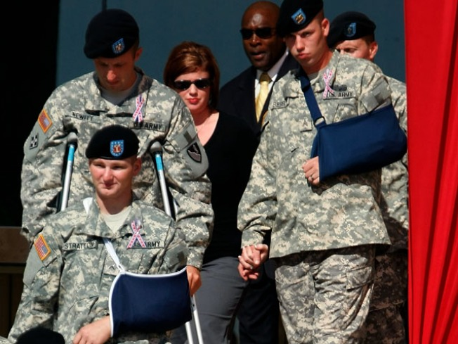 Fort Hood Holds Memorial Service Tuesday