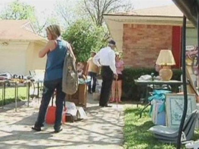 Dallas Slaps Fee on Garage Sales