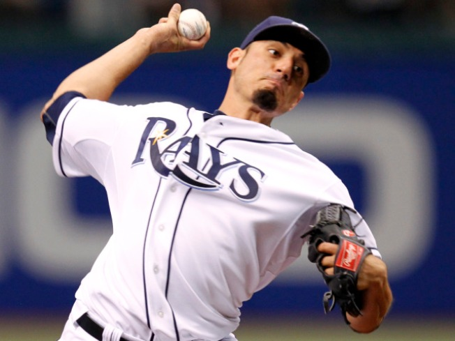 Matt Garza Pitches Rays' First-Ever No-Hitter