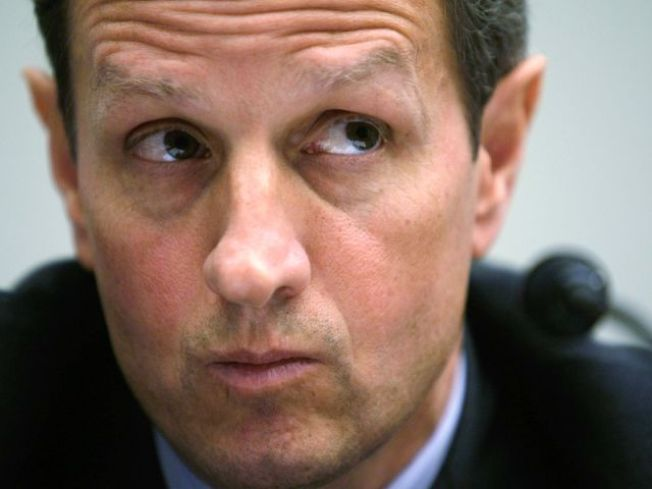 Geithner: Work to be done on economy