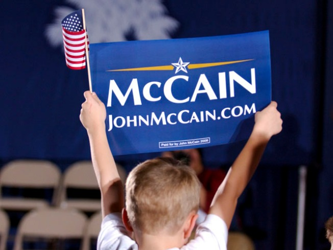 Live From Arizona: Watch the Race From McCain's Home State