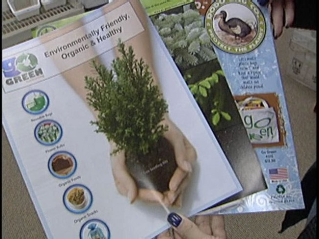 Mansfield Company Offers Earth Friendly Fundraising Goods
