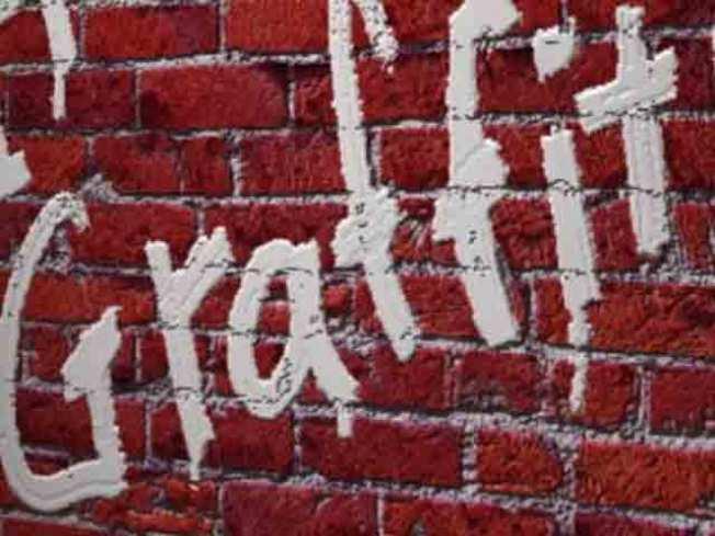 Blasting Graffiti...With Baking Soda