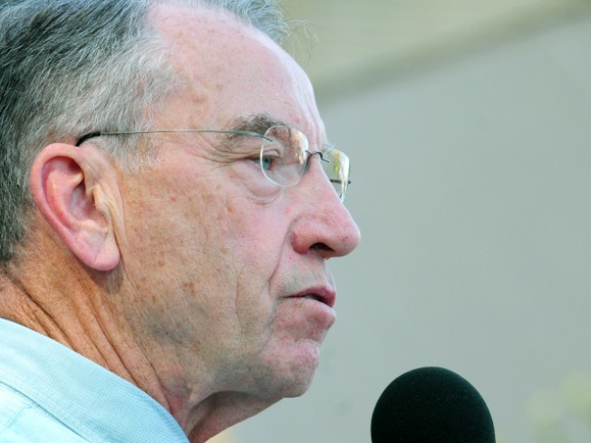 At Town Halls, Grassley Retreats From Plan