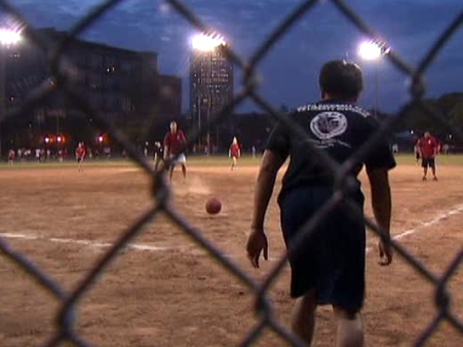 Kickball Enthusiasts Want to Tag Out Park Renovation