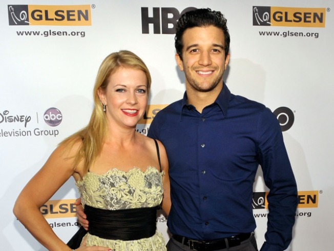 Melissa Joan Hart & Mark Ballas Make A Move For The Top On 'Dancing'