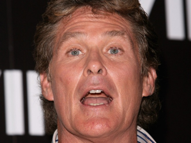 The Hoff Laughs as Roast Gets Personal