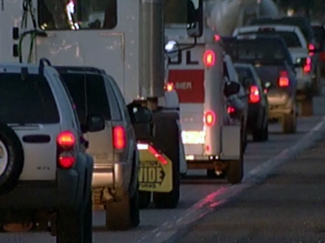 Holiday Traffic Clogs Metroplex