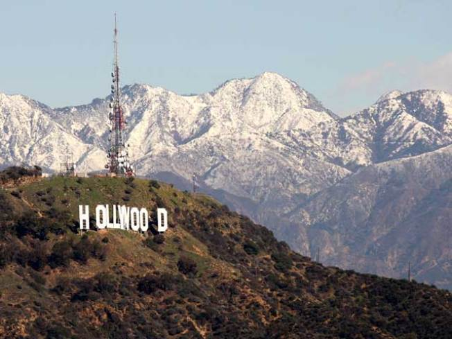 Hollywood Ending for Hollywood Sign