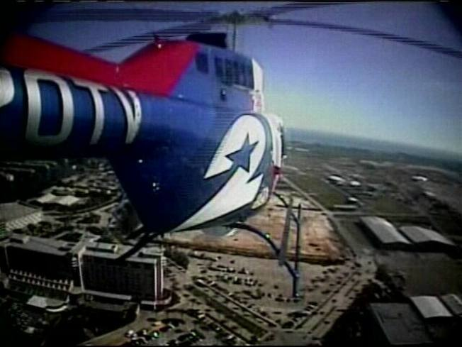 Southwest Jet, News Helicopter Get Way Too Close