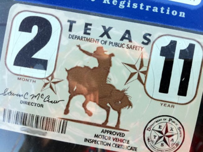 Texas To No Longer Require Auto Inspection Sticker Nbc 5 Dallas