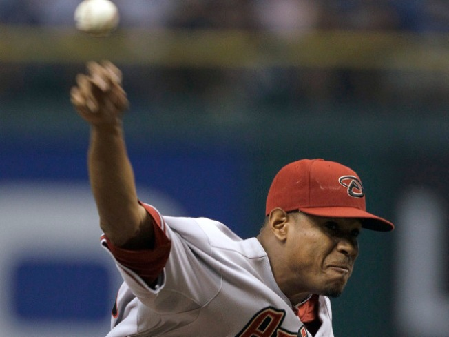 Diamondbacks' Edwin Jackson Pitches No-hitter