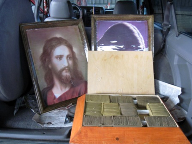 Holy Pot Bust: Drugs Found in Framed Portraits of Jesus