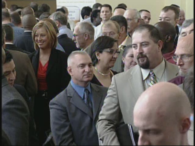 Job Fair Helps Veterans Battle Tough Economy
