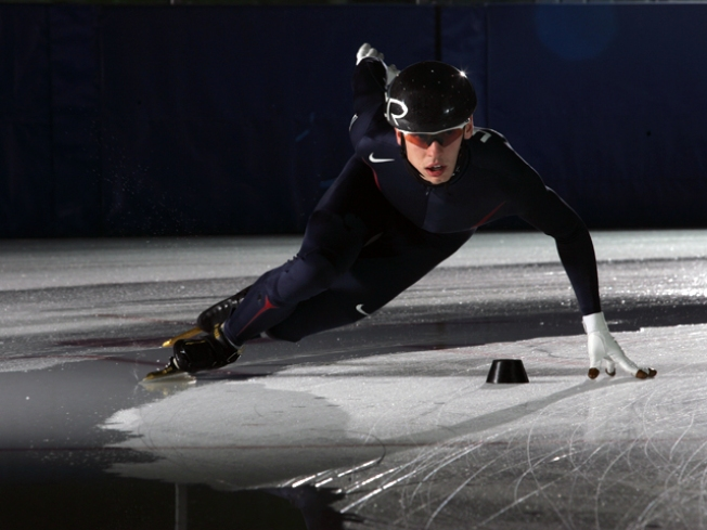 Speedskater's Supporters Gear Up for Winter Olympics