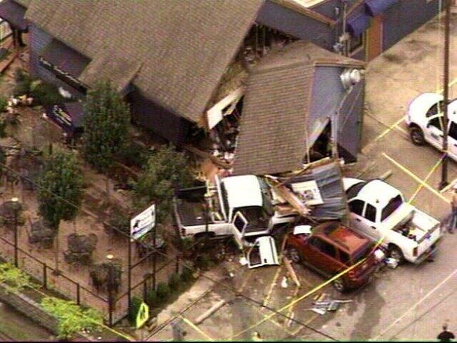 Daily Police Blotter: Truck Slams Into Restaurant