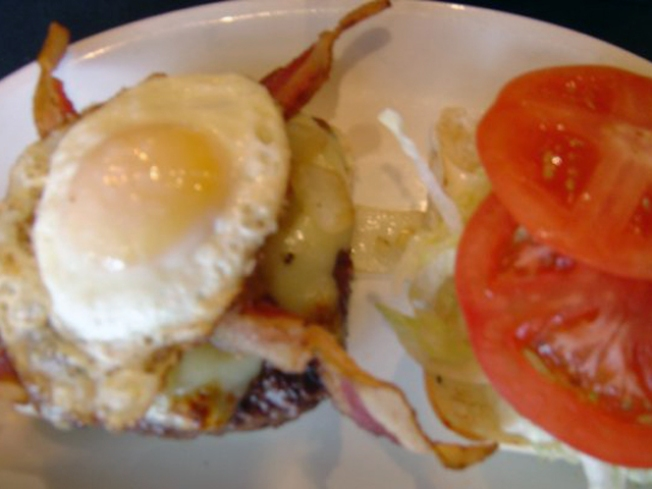 Gourmet Yourself: Kenny's Bacon and Egg Burger
