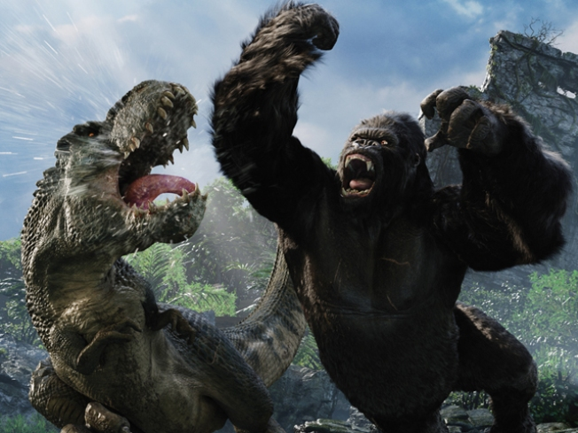"""King Kong 360 3-D"" Opens at Universal on Thursday"