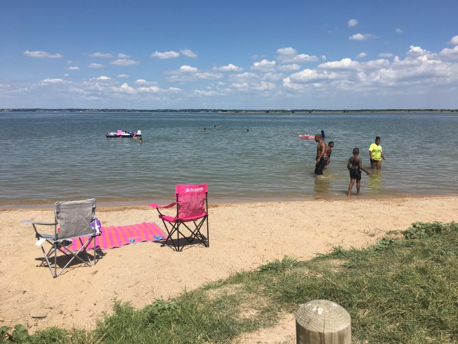Garland Considers Blocking Por Swimming Area