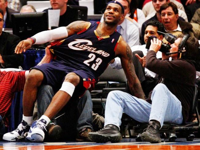 LeBron Already Selling Knicks Tickets