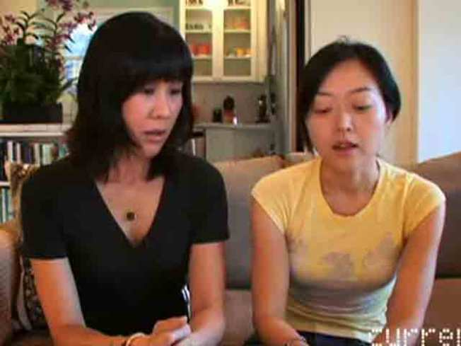 Current TV Posts Euna and Laura Thank-You Video
