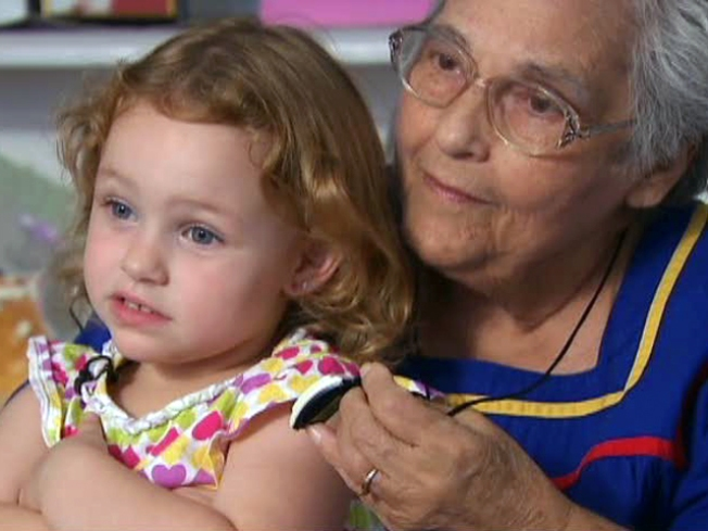 Toddler Saves Great-Great Granny's Life