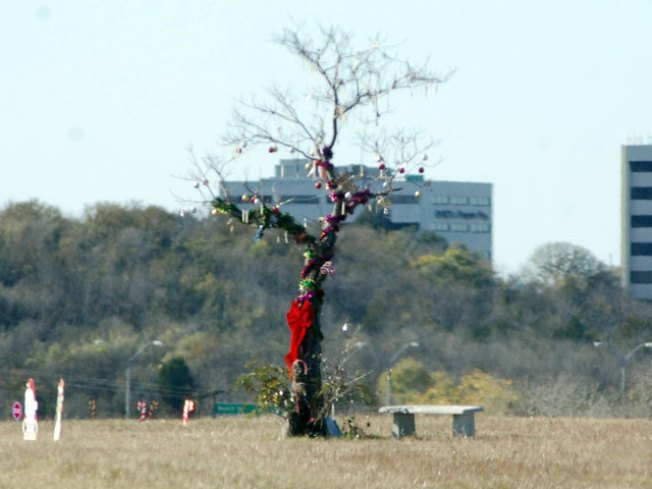 The Story Behind I-30 Christmas Tree