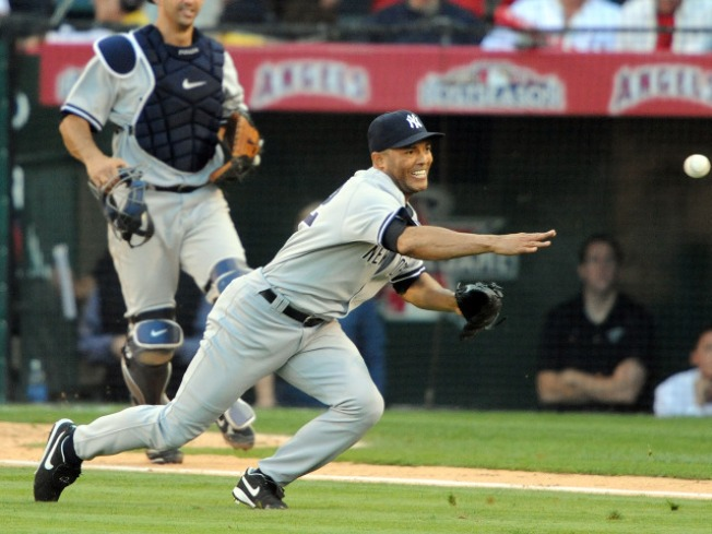 Mariano Rivera's Spit Adds New Wrinkle to Game Four
