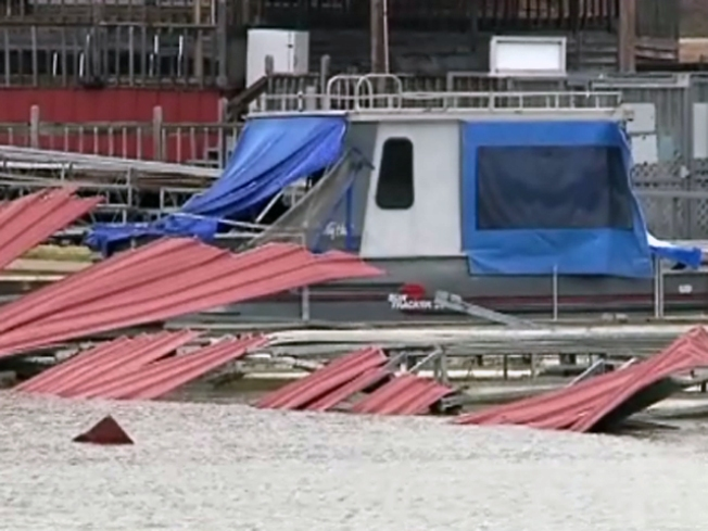 Boat Owners Still Angry Over Marina Roof Collapse