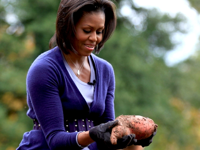 "First Lady's ""Iron Chef"" Moment Arrives"